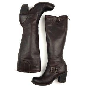 Frye Vera Block Heel Tall Boot